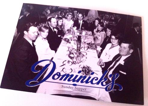 Dominicks inspirational postcard